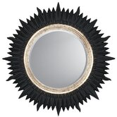 Starburst Contemporary Wall Mirror
