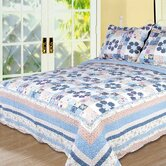 Pansy Quilt Set