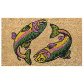 Two Fish Doormat
