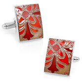 Deco Flower Cufflinks