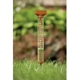 Decorative EZ Read Rain Gauge