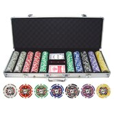 500 Piece Big Slick 11.5g Poker Chip Set