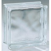 "Glass Block 8"" x 8"" x 4"" Decora Block"