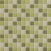 Isis 12&quot; x 12&quot; Glass Mosaic Tile in Kiwi Blend