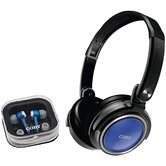 Jammerz Headphones with Earbuds & Carrying Case