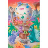 Dino Balloon - 60 Piece Kids Puzzle