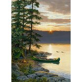 Canoe Lake 1000 Piece Puzzle