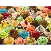 400 Piece More Ice Cream Puzzle