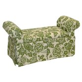 Canary Skirted Storage Bench