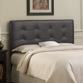 Tufted Leather Headboard