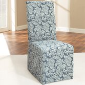 Scroll Classic Dining Chair Skirted Slipcover