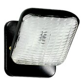 Square Remote Head for Emergency Light in Black