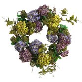 24&quot; Hydrangea Wreath
