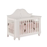 Angelina Crib Set with Nightstand, Dresser, and Hutch