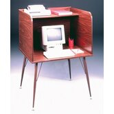 General Single Laminate Computer Study Carrel