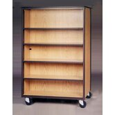 1000 Series DF Bookcase Mobile Cabinet