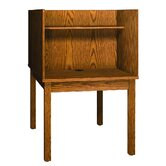 Library 3000 Wooden Back-to-Back Study Carrel