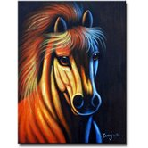 'Mind That Horse' Canvas Art