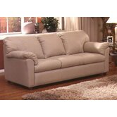 Tahoe Leather Full Sleeper Sofa