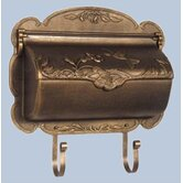 Hummingbird Horizontal Wall Mounted Mailbox