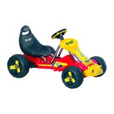 Racer Battery Powered Go - Kart in Red