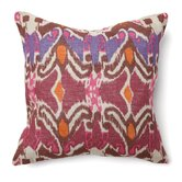 Bohemian Chic Ikat Square Pillow
