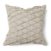 Provence Diamond Tuck Stitch Pillow in Natural
