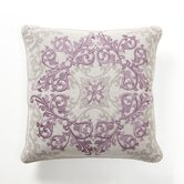 Baroque and Roll Urbane Pillow in Plum