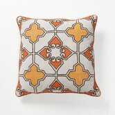 Global Bazaar Lamina Pillow in Orange