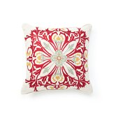 Illusion Tuscan Grand Floral Pillow in Multi