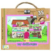 35 Piece My Dollhouse Giant Floor Puzzle