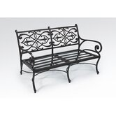 Catalina Deep Aluminum Garden Bench