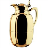 Juwel 1-Liter Gold Plated Brass Thermal Carafe
