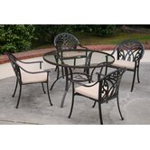 Montecito 5 Piece Dining Set