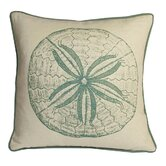 Sand Dollar South Pacific Decorative Pillow