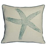Starfish South Pacific Decorative Pillow