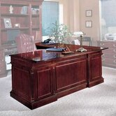 Keswick 72&quot; W Executive L-Shape Desk with Right Return