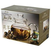 40 Oz. Tea Pot with 12 Flowering Teas