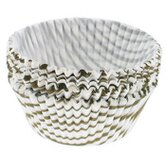"2"" Regular Gold Swirl Muffin Cups (75 Count)"