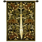 Celtic Warrior BW Wall Hanging