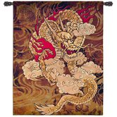 Golden Dragon Tapestry