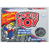 Chore Boy Stainless Steel Scrubbers (Pack of 2)