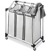 Laundry Sorter in Chrome