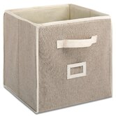"12"" Linen Collapsible Cube"