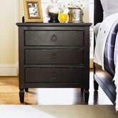 Summer Hill 3 Drawer Nightstand