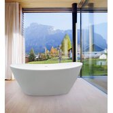 PureScape 748M Freestanding AquaStone� Bathtub