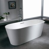 PureScape 607M Freestanding AquaStone Bathtub