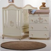 Bambino Legno Nursery Room Set in Honey and Cream Gioellino