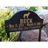 Ridgecrest Pet Memorial / Wildlife Plaque