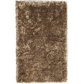 Crystal Multi Beige/Dark Brown Rug